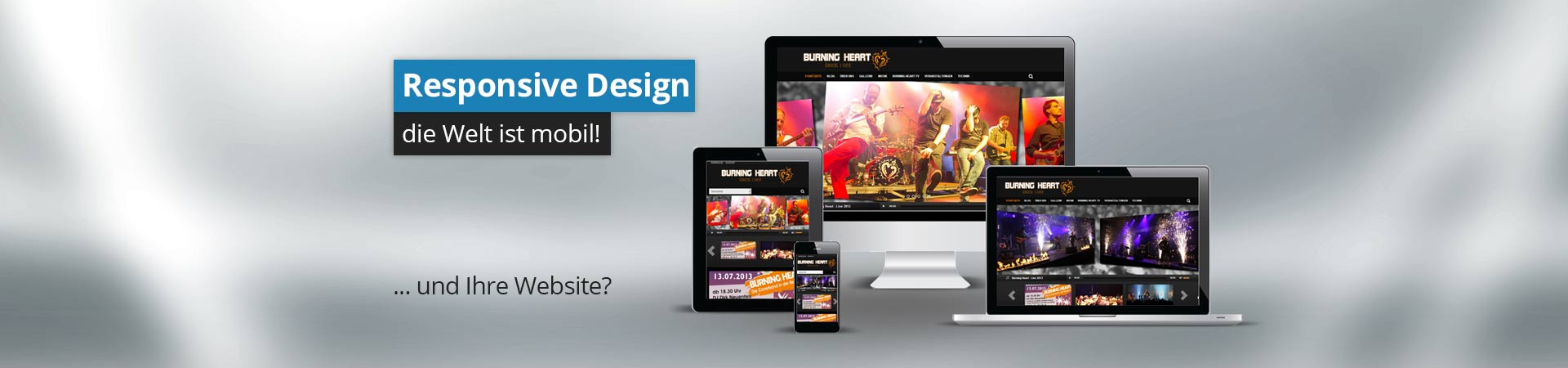 Responsive Design - Mobiles Webdesign